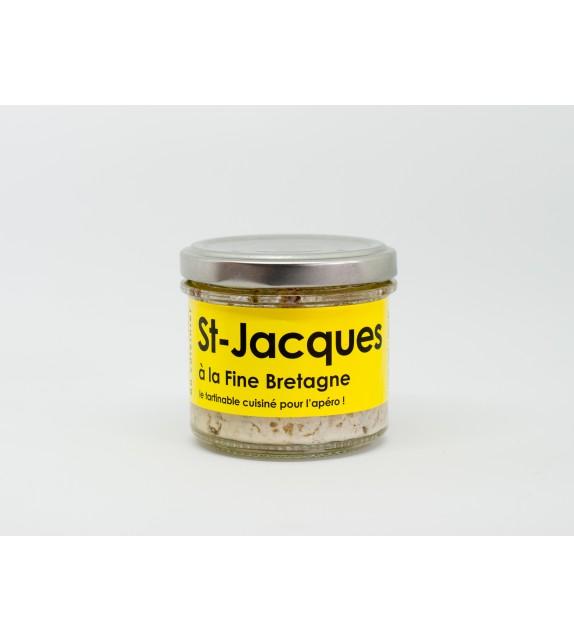 Tartinable de Saint Jacques à la Fine de Bretagne