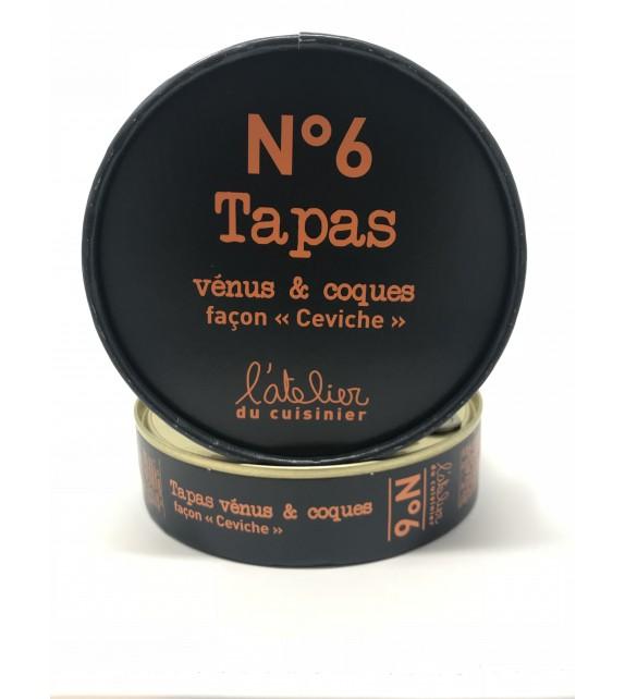 """Tapas de Vénus et Coques façon """"Ceviche"""". N°6"""