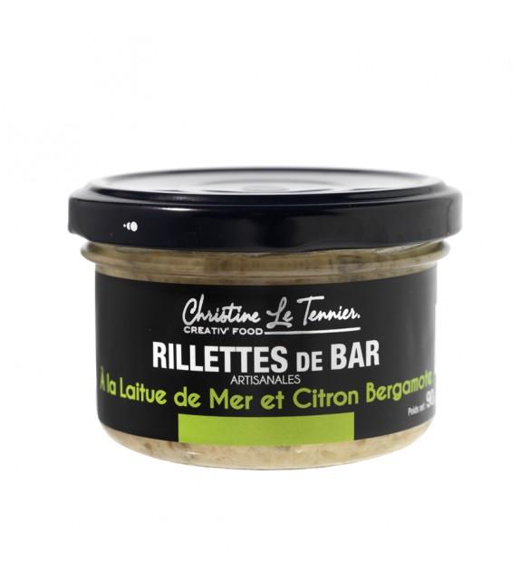 Rillettes de Bar à la Laitue de Mer et Citron Bergamote
