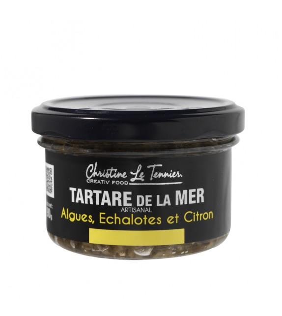 Tartare de la mer - Algues, échalotes et citron