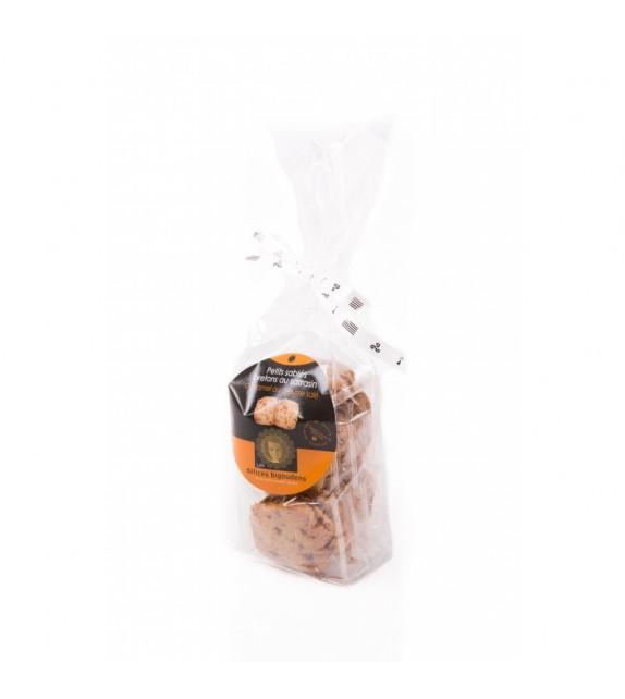 Petits Sablés Bretons au Sarrasin caramel et beurre salé en sachet
