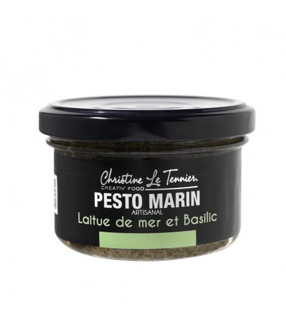Pesto Marin à la Laitue de mer et Basilic