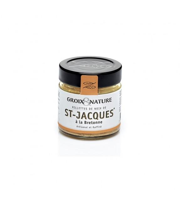 Rillettes de Noix de St Jacques à la Bretonne de l'Île de Groix