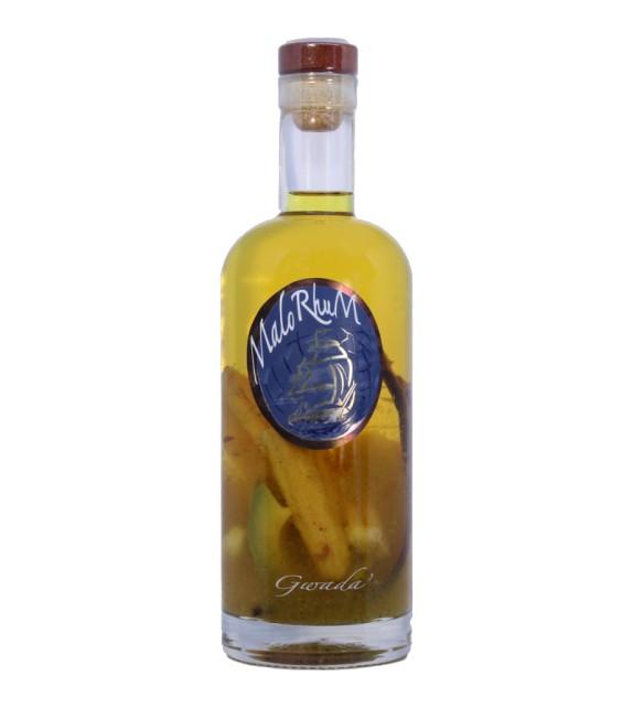 GWADA - Rhum à l'ananas, bananes, avocat, vanille, zestes de citron, épices -