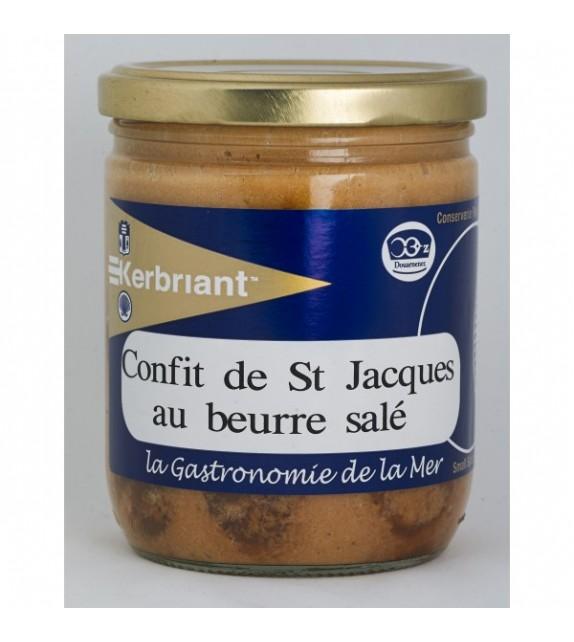 Confit de Saint Jacques au beurre salé
