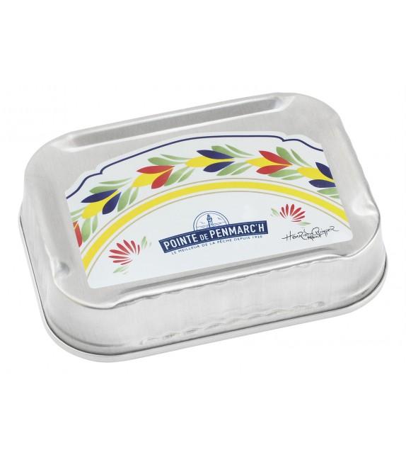 """Sardines à l'ancienne à l'huile d'olive vierge extra """" Faïence Henriot"""""""