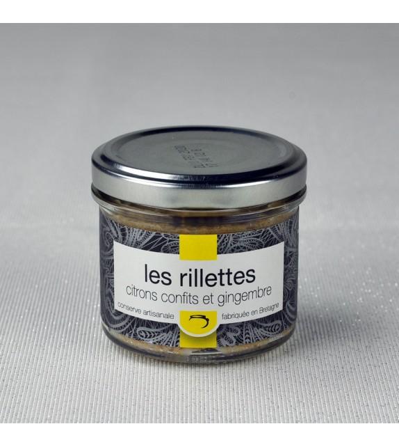 Rillettes de porc Breton aux citrons confits et gingembre