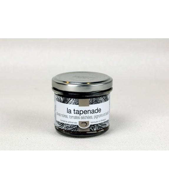 Tapenade olives noires et tomates