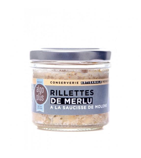 Rillettes de Merlu à la Saucisse de Molène