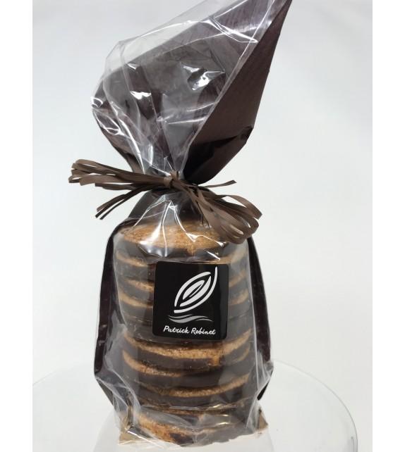 Melen du - Galettes bretonnes au chocolat