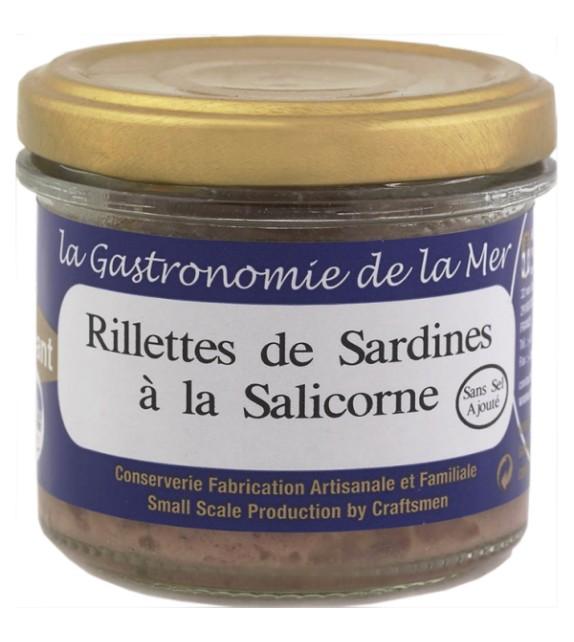 Rillettes de sardines à la salicorne