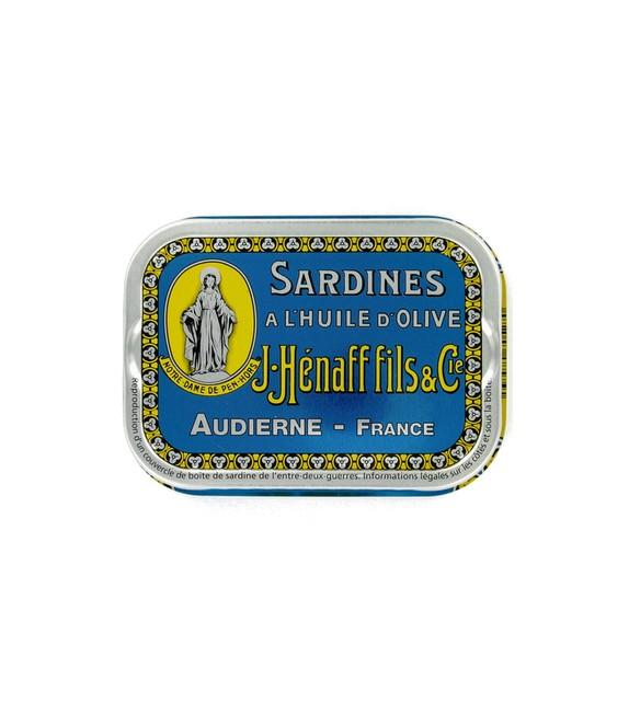 Sardines à l'huile d'olive Hénaff