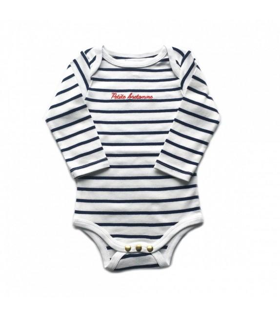 Body marinière petite bretonne 12 mois
