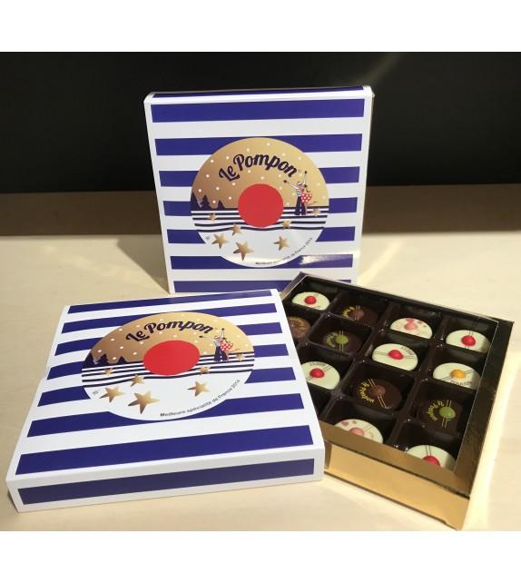 Marinière de Pompon en Chocolat