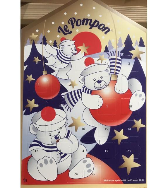 Calendrier de L'Avent de Pompon au chocolat